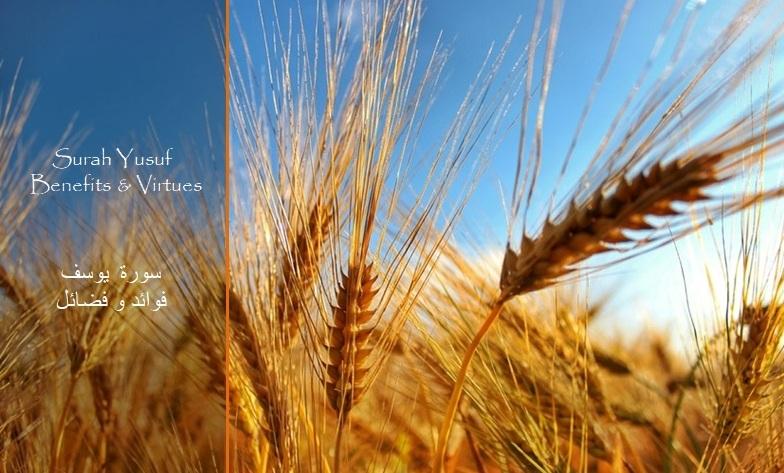 Benefits and Virtues of Surah 12 Yusuf – ﴾ بسم الله الرحمن